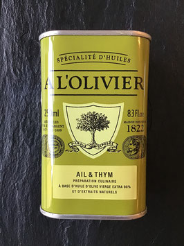 Olivenöl mit Knoblauch und Thymian - 250ml