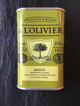 Olivenöl mit Basilikum- 250ml