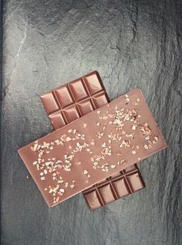 Zartbitter Schokolade 55% mit Kakaobruch - 95 Gramm