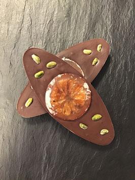 Creation Gourmande Noir Orange 56% - Orangenschokolade - 90 Gramm