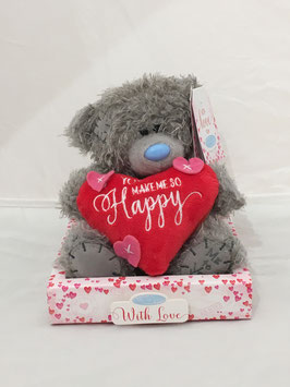 Me To You Knuffel 'You Make Me So Happy' - 16 centimeter (Signature Collection)