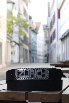 Zürich-Letters Gürtelschnalle