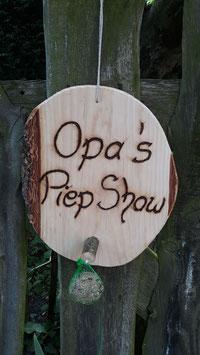 Männergeschenk Opas Piep Show
