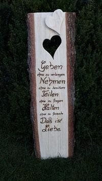 Hochzeit Holzschild personalisiert