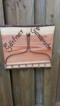 Garderobe für einen Gärtner