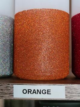 Orange Hauseigener Holoflitter Untergrund für unsere Kerzen!