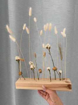 Déco fleurs séchées - centre de table