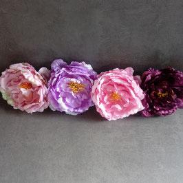 Serviettenringe Blütenzauber  XXL 4er Set