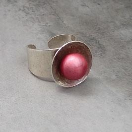 Ring Pappmaché Fuchsia