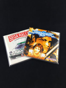 Sega Dreamcast - Instruction Manual Sleeves