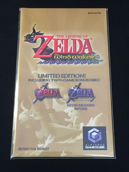 Nintendo GameCube - Instruction Manual Sleeves