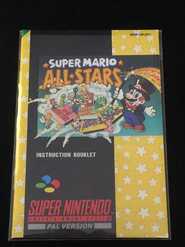Super Nintendo / SNES - Instruction Manual Sleeves