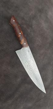 """Küchenmesser """"Chef-22cm"""", Damaststahl 100 Lagen"""