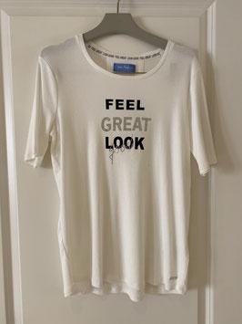 VIA APPIA T-Shirt (911872/ 950 ecru)