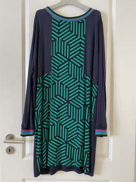 CATNOIR Kleid (3250-10 / 760 blau/grün) SALE