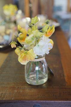 Wickenblüte in Vase 17cm