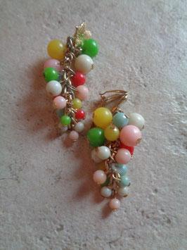 Clips cascade perles
