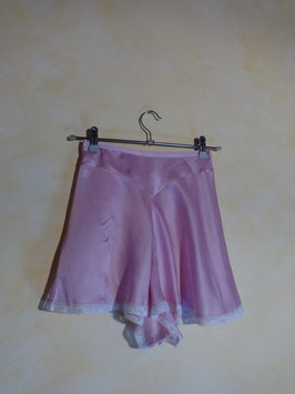 Shorty soie parme 50's T.36