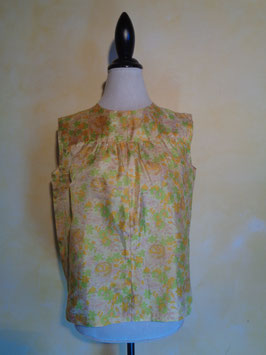 Top fleuri 60's T.40