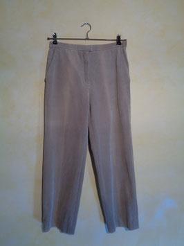 Pantalon velours beige 90's T.40