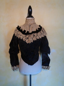 Corsage crochet 1900 T.36