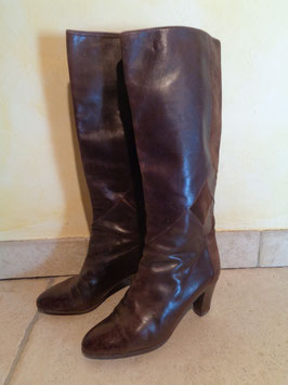 Bottes cuir Bally P.36,5