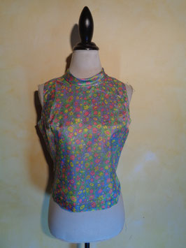 Top fleuri 60's T.38