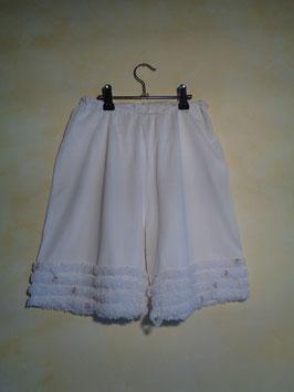 Panty blanc 60's T.40