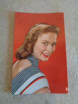 Carte postale Pin up portrait 60's