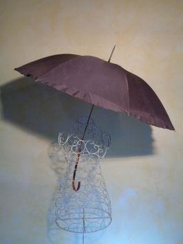 Parapluie ciel de roses 50's