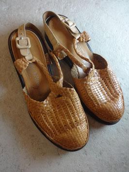 Sandales cuir tressé Kelian P.38