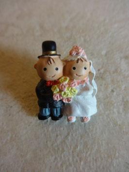 Pin's mariés