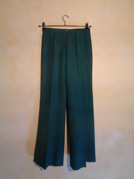 Pantalon vert 70's T.34