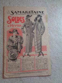 Catalogue d'hiver La Samaritaine 1923