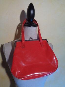 Pochette rouge 60's