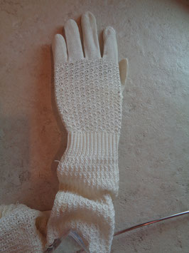 Gants mi-longs crochet