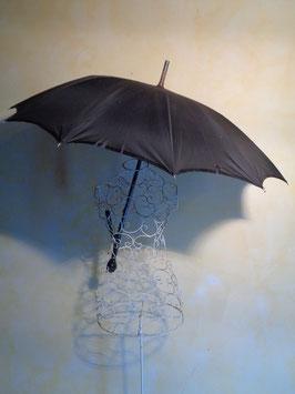 Ombrelle noire 1900