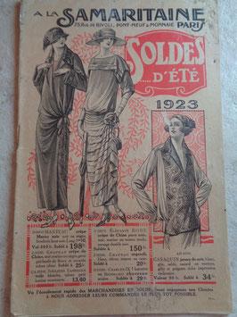 Catalogue été La Samaritaine 1923