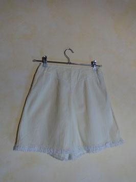 Panty coton jaune 60's T.36