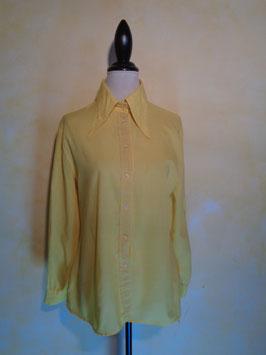 Chemise jaune 70's T.40