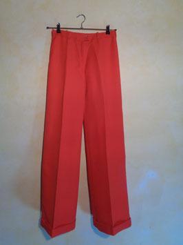 Pantalon rouge 70's T.38