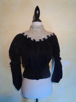 Corsage crochet 1900 T.34