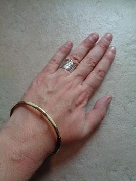 Bracelet jonc nacre