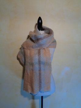 Echarpe laine à carreaux