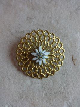 Broche Edelweiss 50's