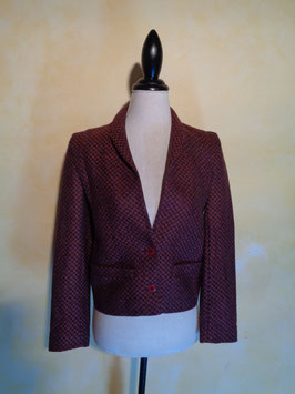 Blazer à carreaux 80's T.38