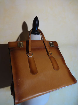 It bag cuir 70's