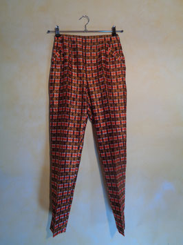 Pantalon soie 70's T.36