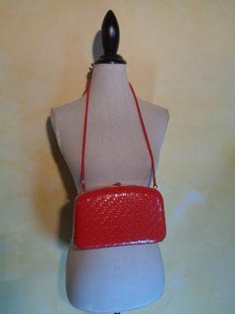 Pochette italienne rouge