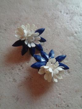 Clips fleurs 60's